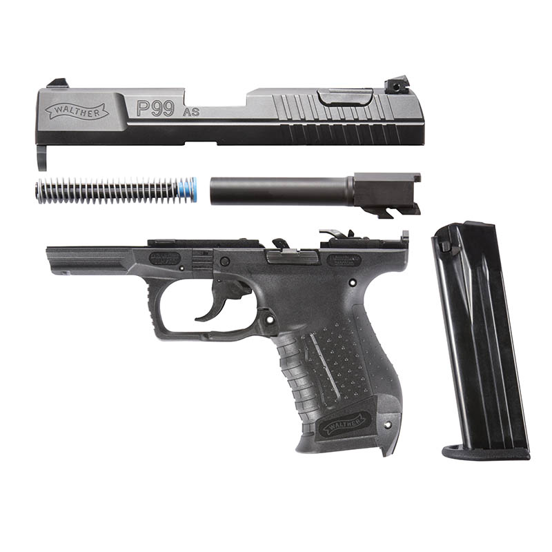 walther p99 as 9mm pistol t n tactical llc